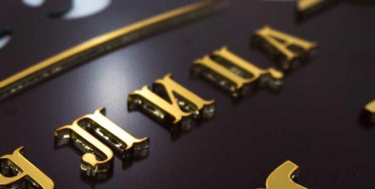 Плоские буквы 3-20мм